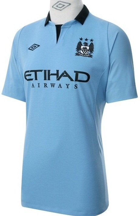 2012 2013 Camiseta Uniforme Equipacion Manchester City 2012 2013 Home