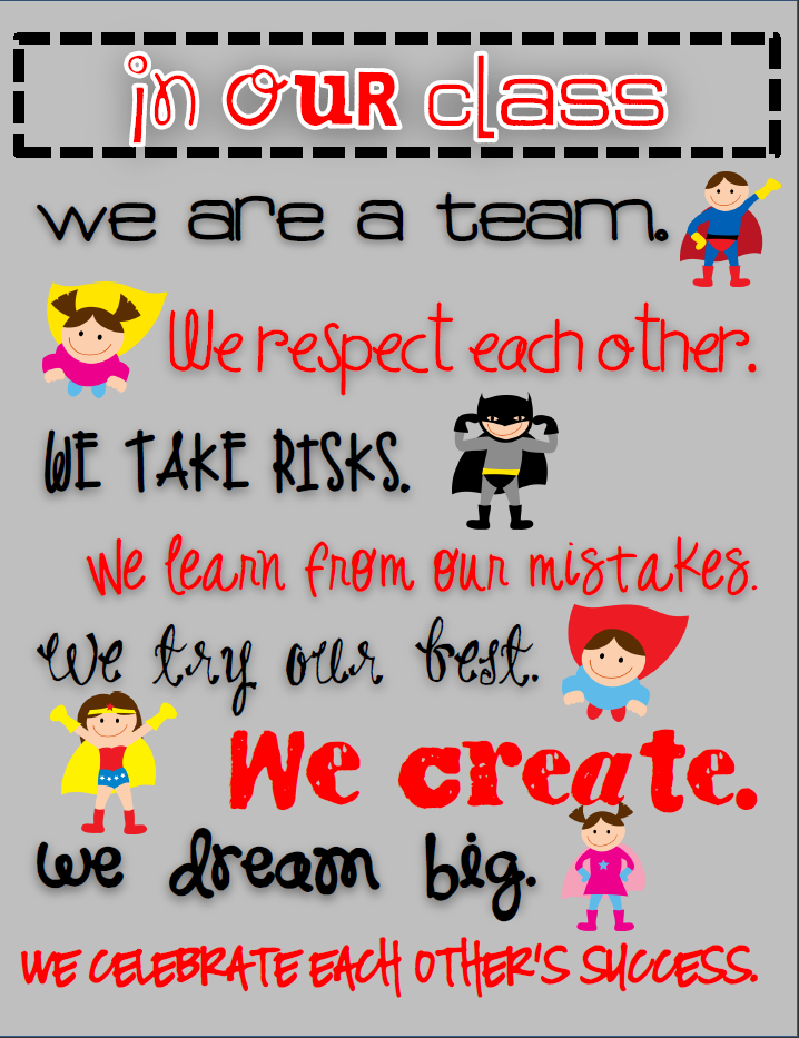 Teaming Up To Teach: Superhero Classroom Theme....and a ...