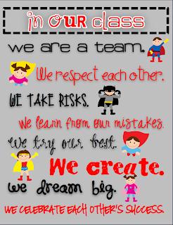 Class Rules - Second Grade