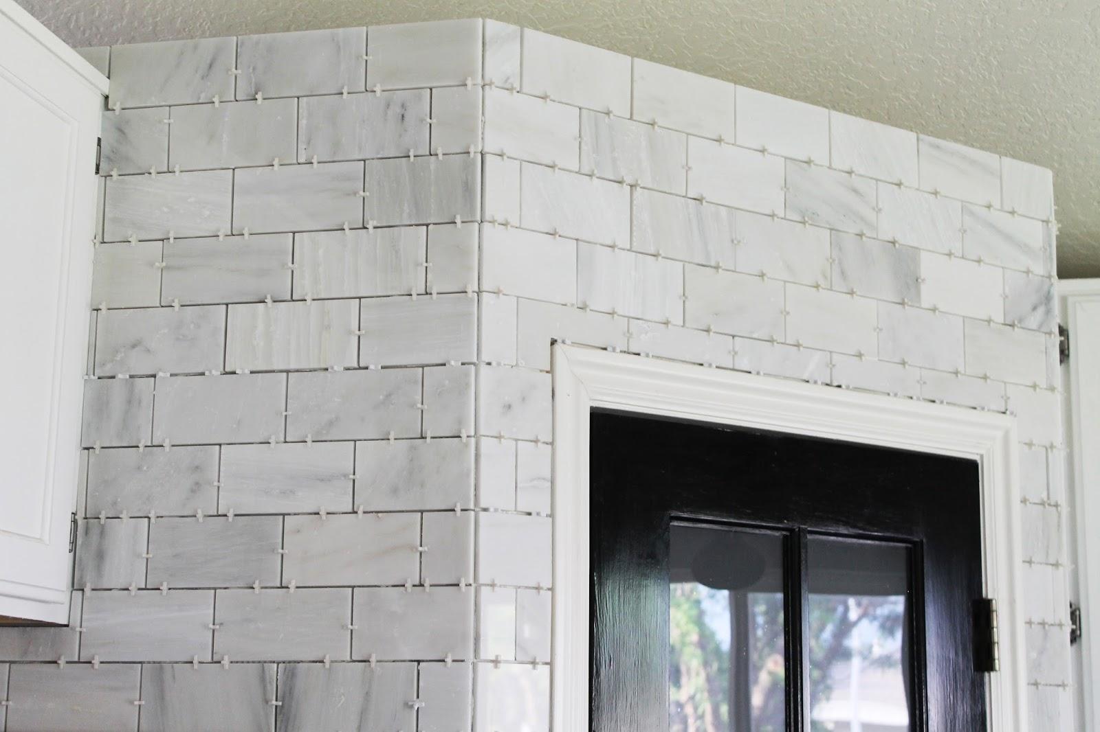 The marble tile installed chris loves julia the marble tileinstalled dailygadgetfo Gallery