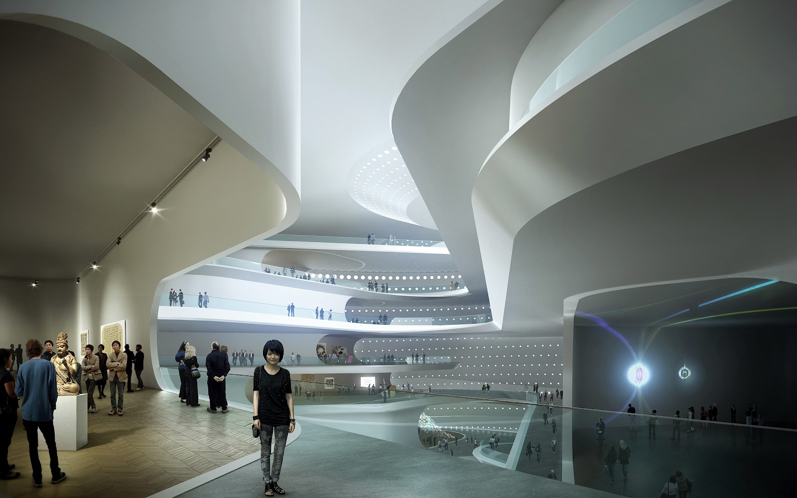 World of Architecture: Modern Architecture: The National Art Museum ...
