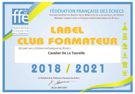 Le Cavalier de la Tourelle club formateur depuis 2009