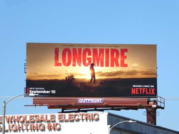 Longmire season 4 Netflix billboard