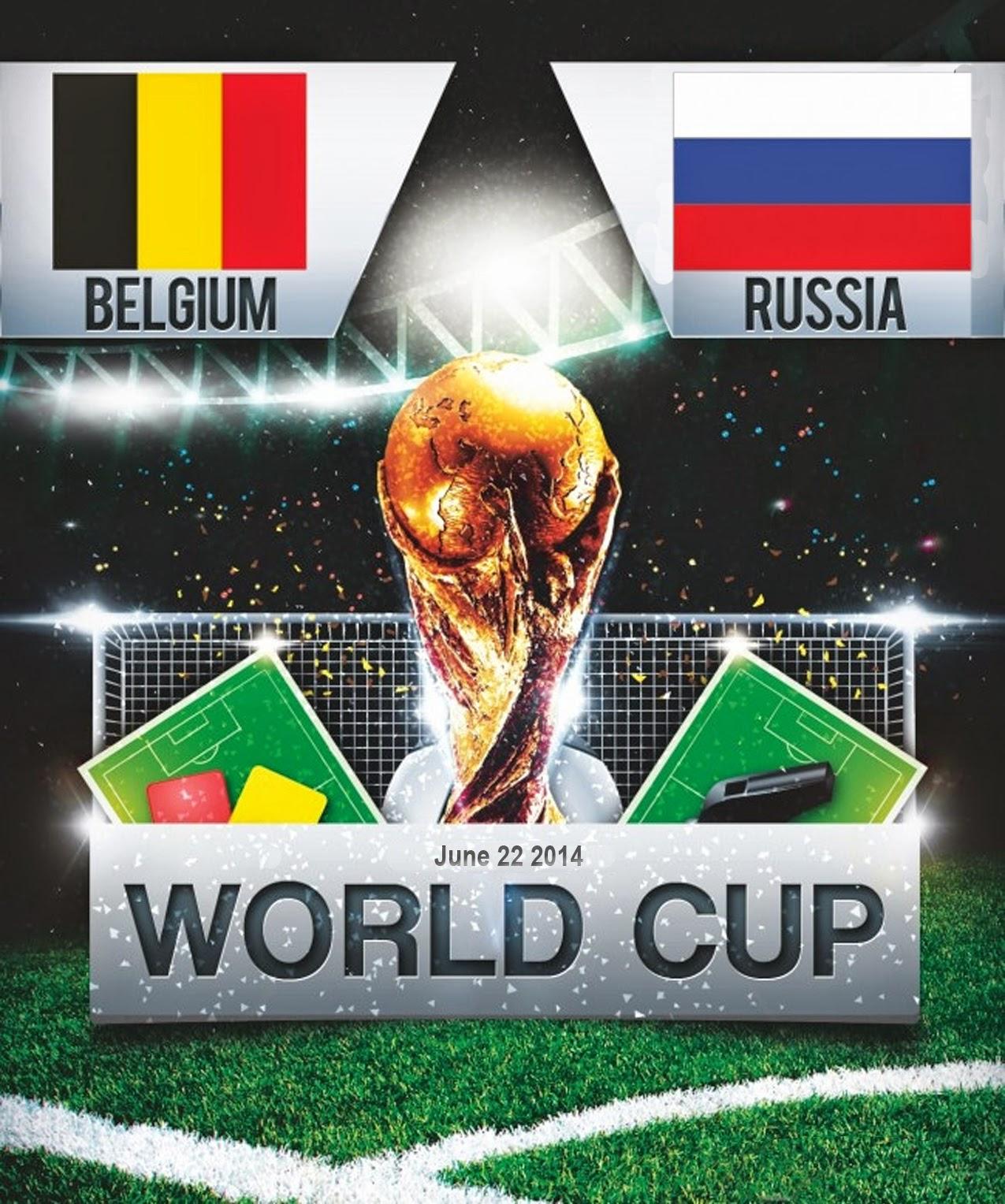 FIFA World Cup 2014 - Belgium vs Russia