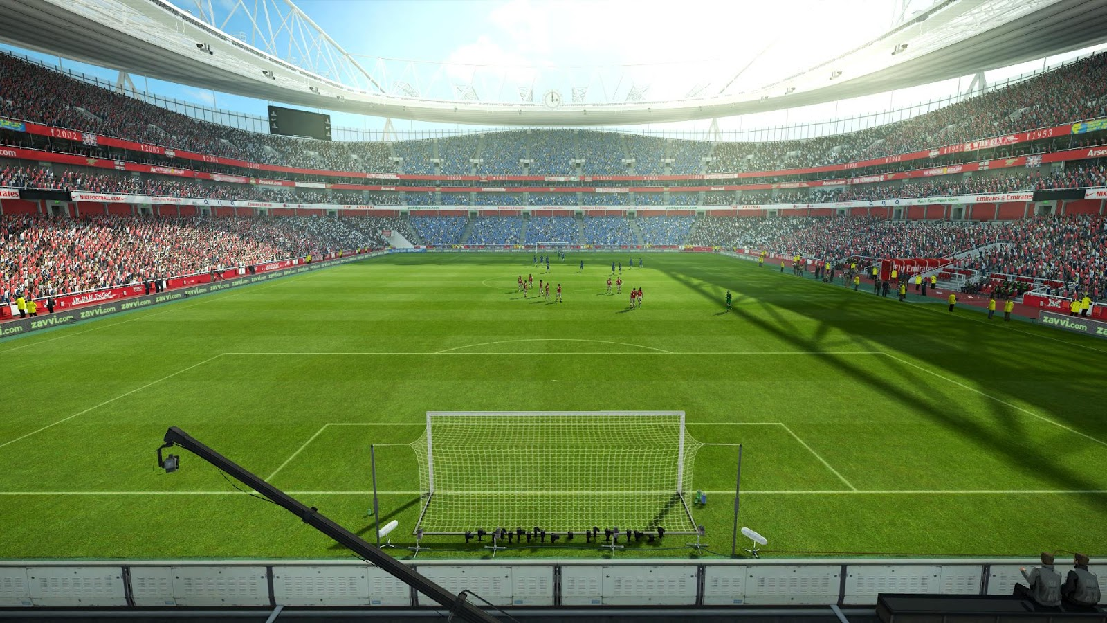 "The stadiums replaces ""Stade de Sagittaire"" ingame."
