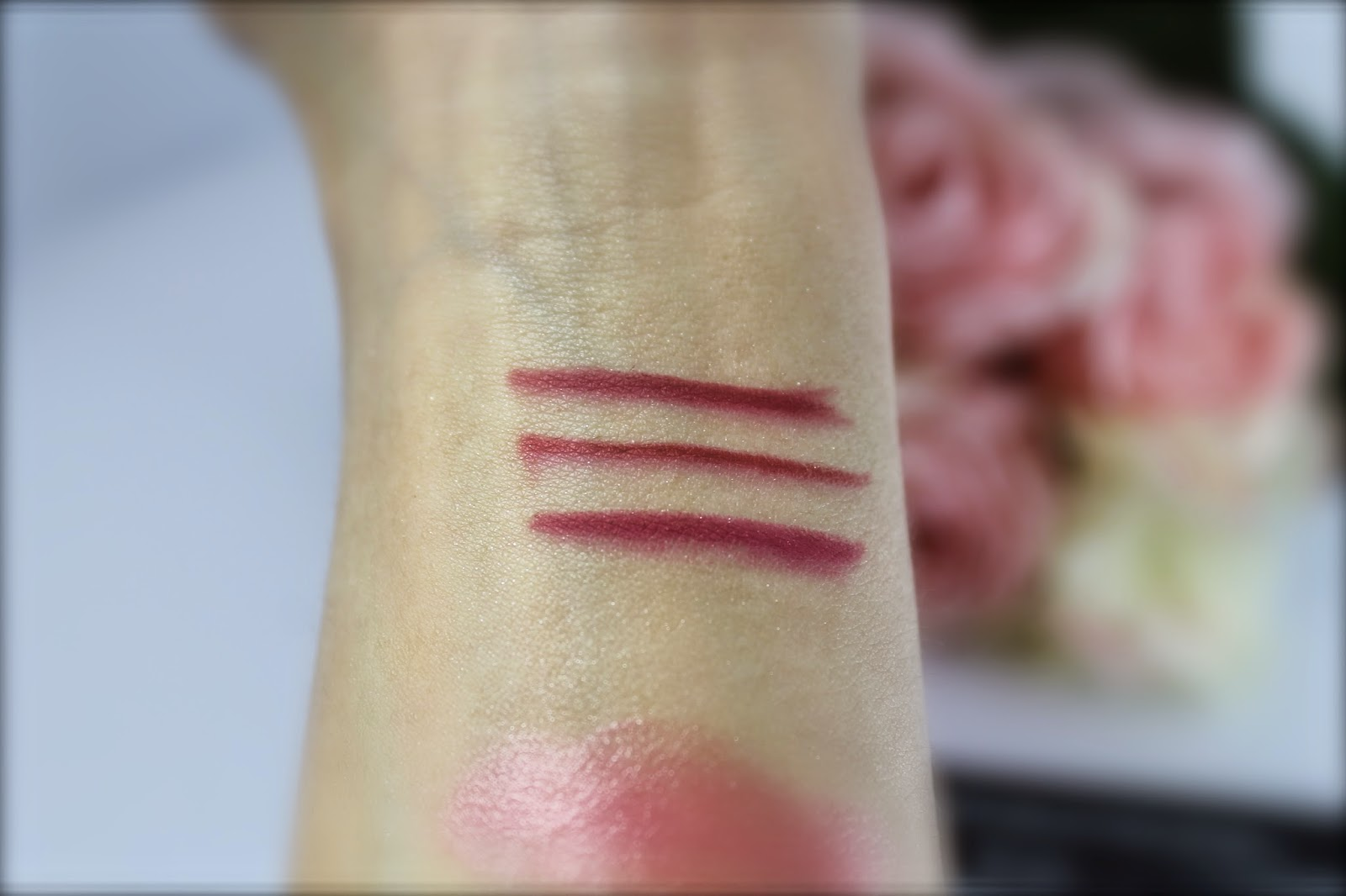 mac lip pencil beet cherry more to love swatches