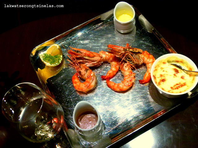 SEA FU RESTAURANT FOUR SEASONS DUBAI: THE ARABIAN GULF DINNER