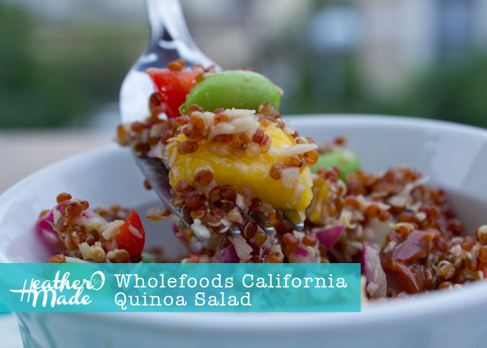 wholefoods california quinoa salad recipe