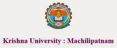 Krishna University BHM Revaluation Result 2014