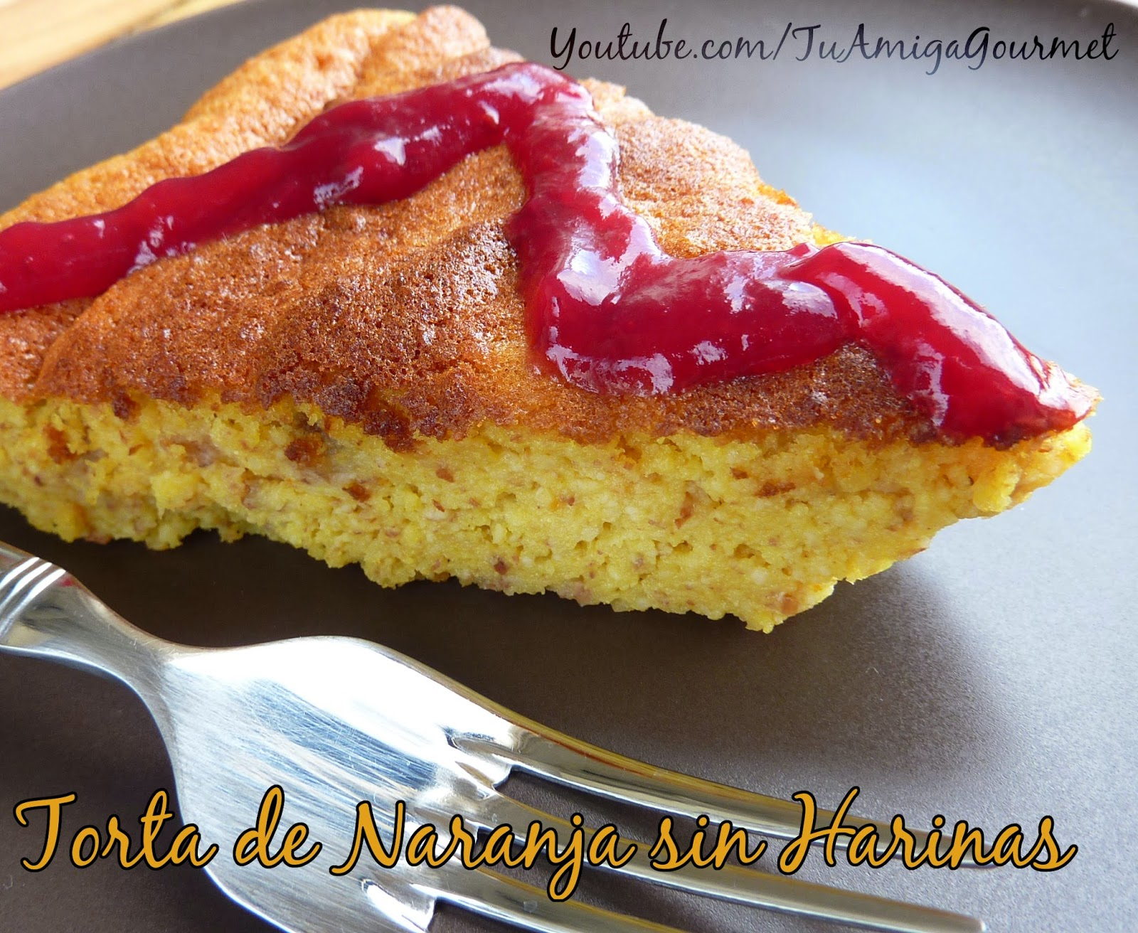 Receta: Como preparar Pastel o Torta de Naranja sin harinas