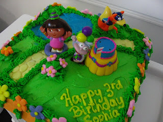 Dora Birthday Cakes For Girls
