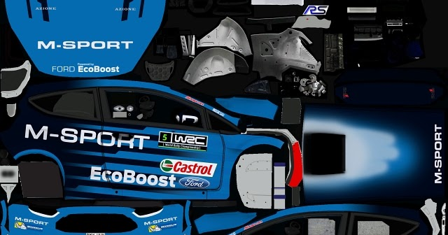 rbr ford fiesta wrc 2016 promo. Black Bedroom Furniture Sets. Home Design Ideas