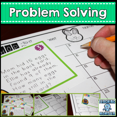 Problem Solving Easter Freebie