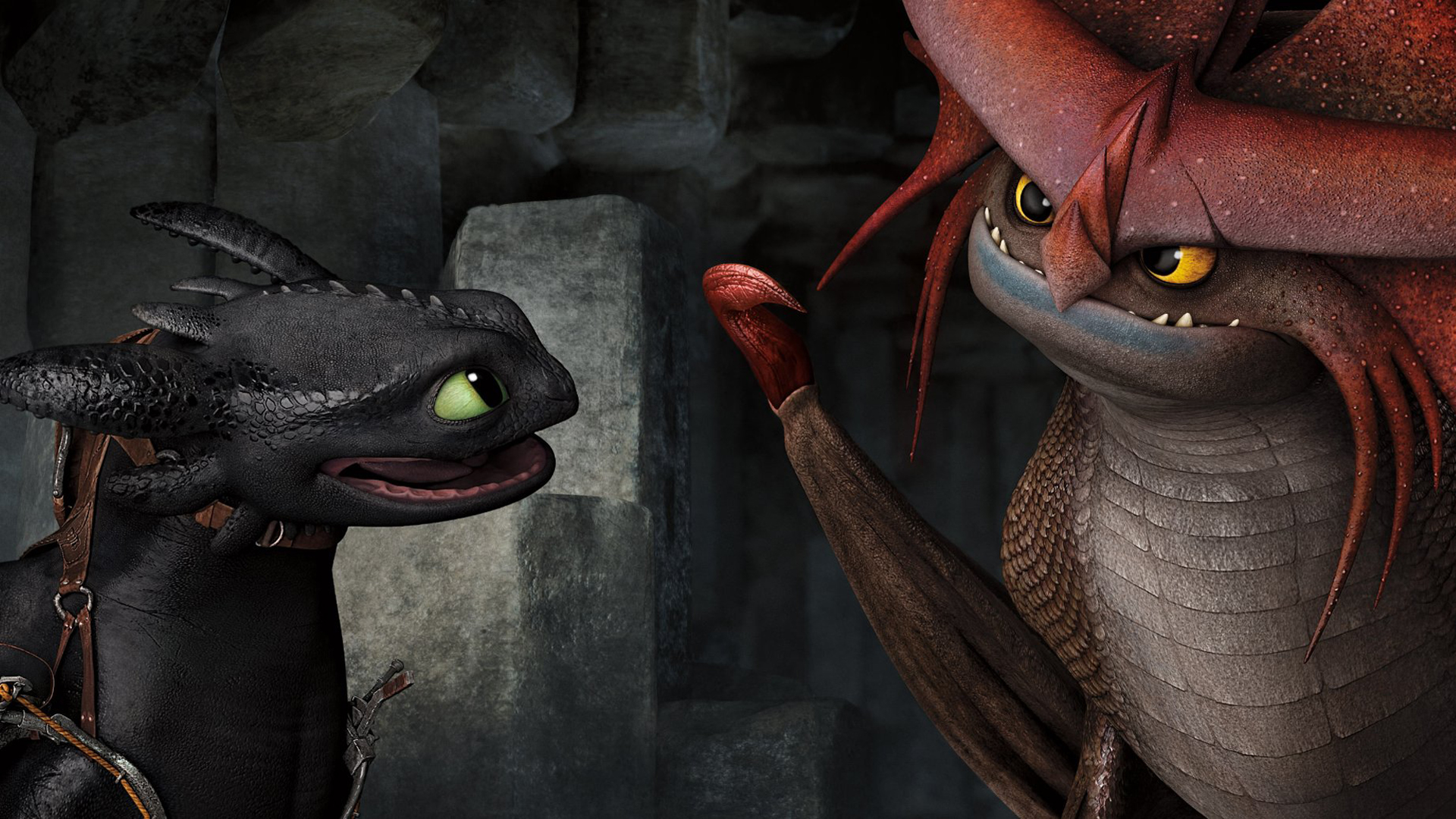 toothless and stormcutter how to train your dragon 2How To Train Your Dragon 2 Wallpaper Toothless