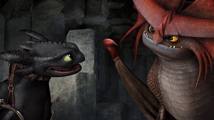 Toothless and Stormcutter