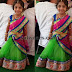 Baby in Sea Green Half Saree