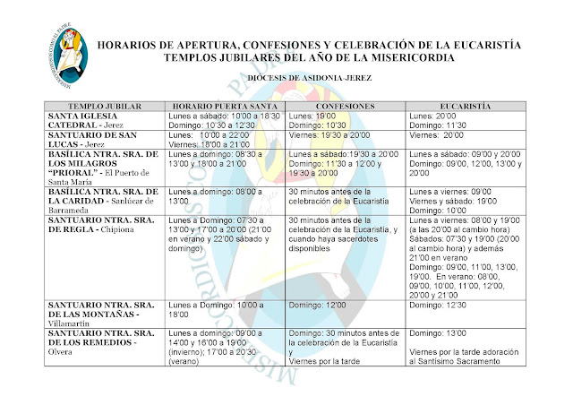 http://www.diocesisdejerez.org/attachments/article/259/HORARIOS%20TEMPLOS%20JUBILARES.pdf