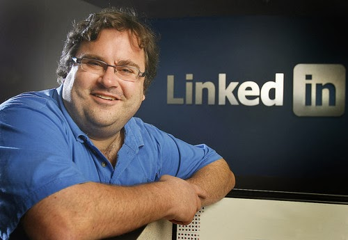 Picture of Reid Hoffman at LinkedIn