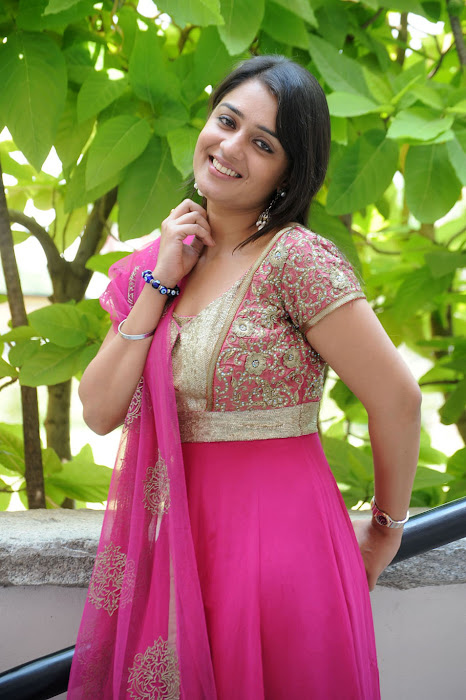 Cute Nikitha in Pink Churidar, Latest Churidar Styles for indian girls glamour  images
