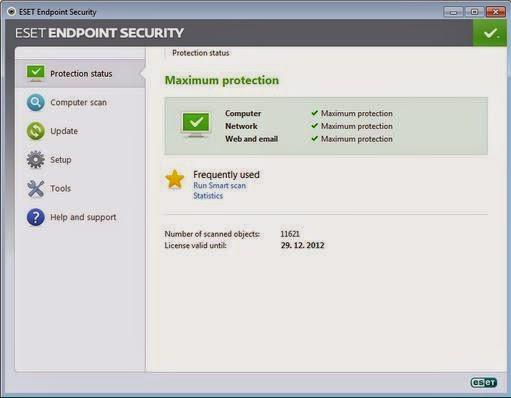 Download ESET Endpoint Security v6.1.2109.0