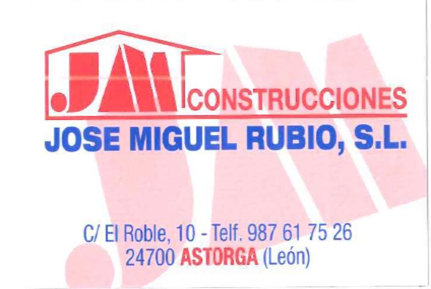 CONSTRUCCIONES JOSE MIGUEL RUBIO