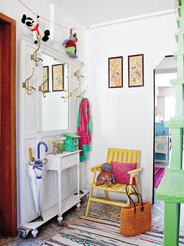 casa vintage decorada por Mara Matey
