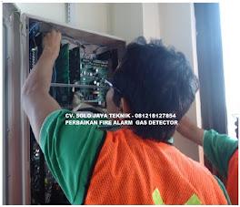 Perbaikan Kerusakan Fire Alarm MCFA