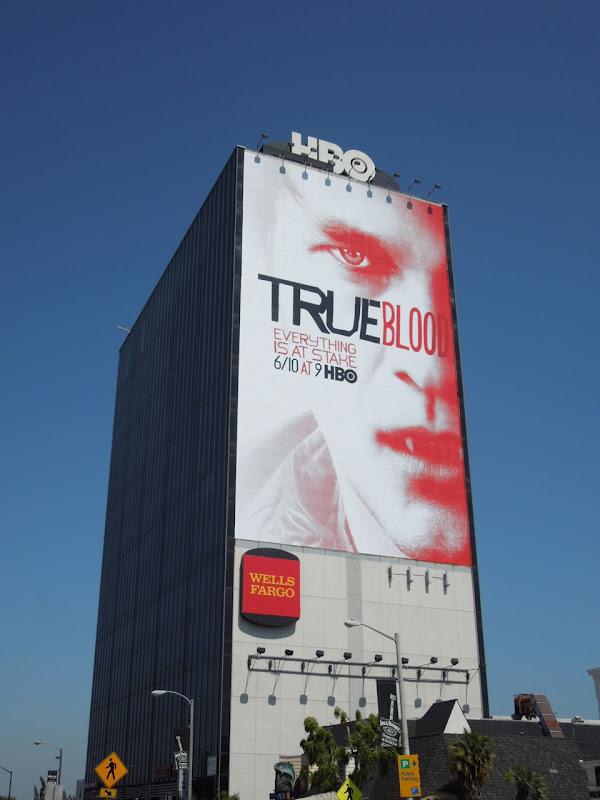 Giant True Blood season 5 billboard