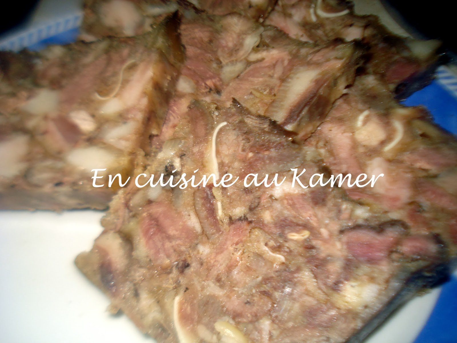Fromage de t te commun ment appell museau la cuisine - Cuisine africaine camerounaise ...