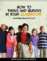 How to Thrive and Survive in Your Classroom book cover