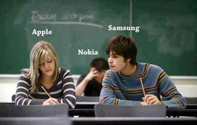 Apple Vs SamSung Vs Nokia Funny Picture