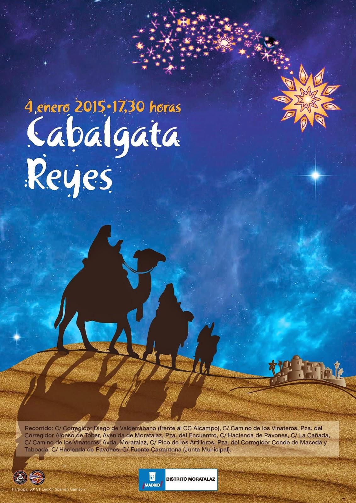 Cabalgata de Reyes del Distrito de Moratalaz 2015