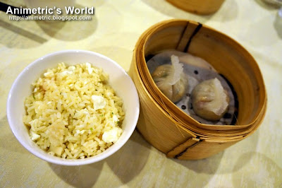 Chef's Special Fried Rice and Chao Chow Dumplings at Passion Restaurant in Maxims Hotel, Resorts World Manila