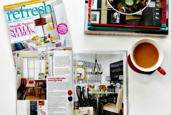 Better Homes and Gardens Refresh Magazine featuring Our Fifth House