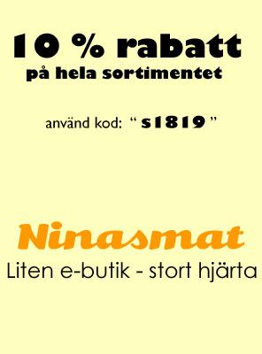 Smått och framförallt gott - Ninasmat.se