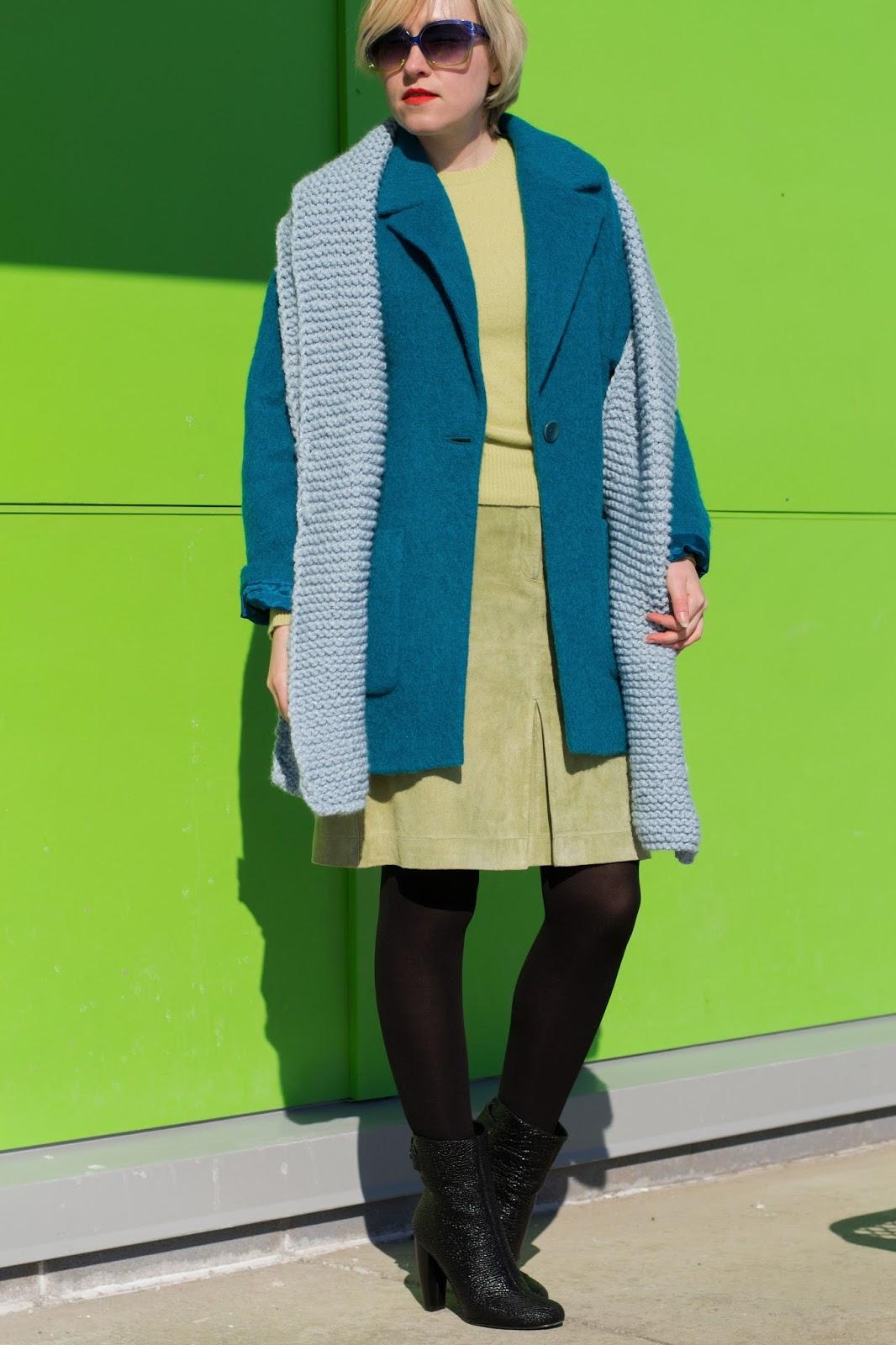 pistachio green sweater