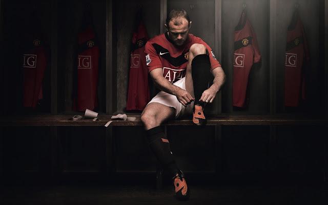 Wayne Rooney Dress Room