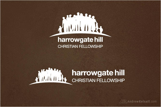 Andrew Kelsall's - Church Logo Design for Harrowgate Hill Christian Fellowship