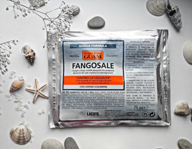 """Антицеллюлитная грязевая маска Талассо с макрогранулами морской соли """"полирующий эффект"""""""