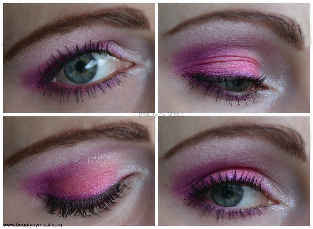 pink purple smoky eye makeup
