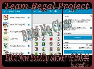 BBM Mod Official 2.9.0.45 Apk + Stiker Gratis