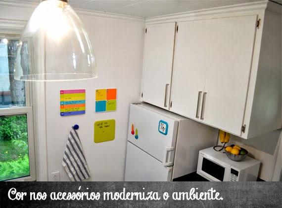 antes e depois da cozinha - reforma na cozinha - aprender a decorar - puxador e armário