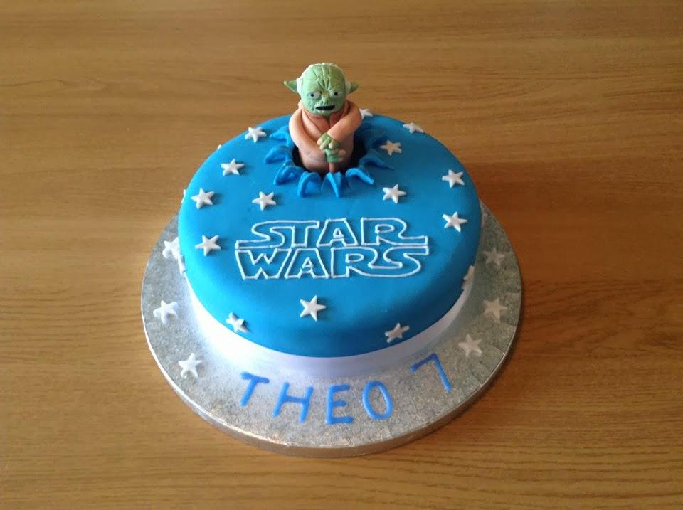 Newtons Cakes Star Wars Yoda Cake Tutorial