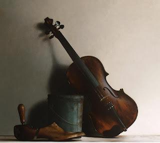 Bodegones Musicales en Claro Oscuro Pintura