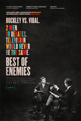 Poster Of Hollywood Film Watch Online Best of Enemies 2015 300MB BRRip 480P HD In English Free Download