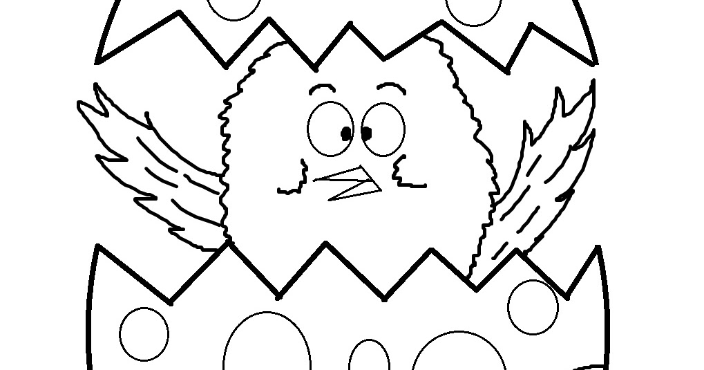 church house collection blog  easter chick coloring page
