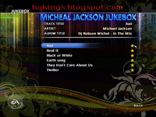 MICHEAL JACKSON JUKEBOX FOR EA CRICKET 07