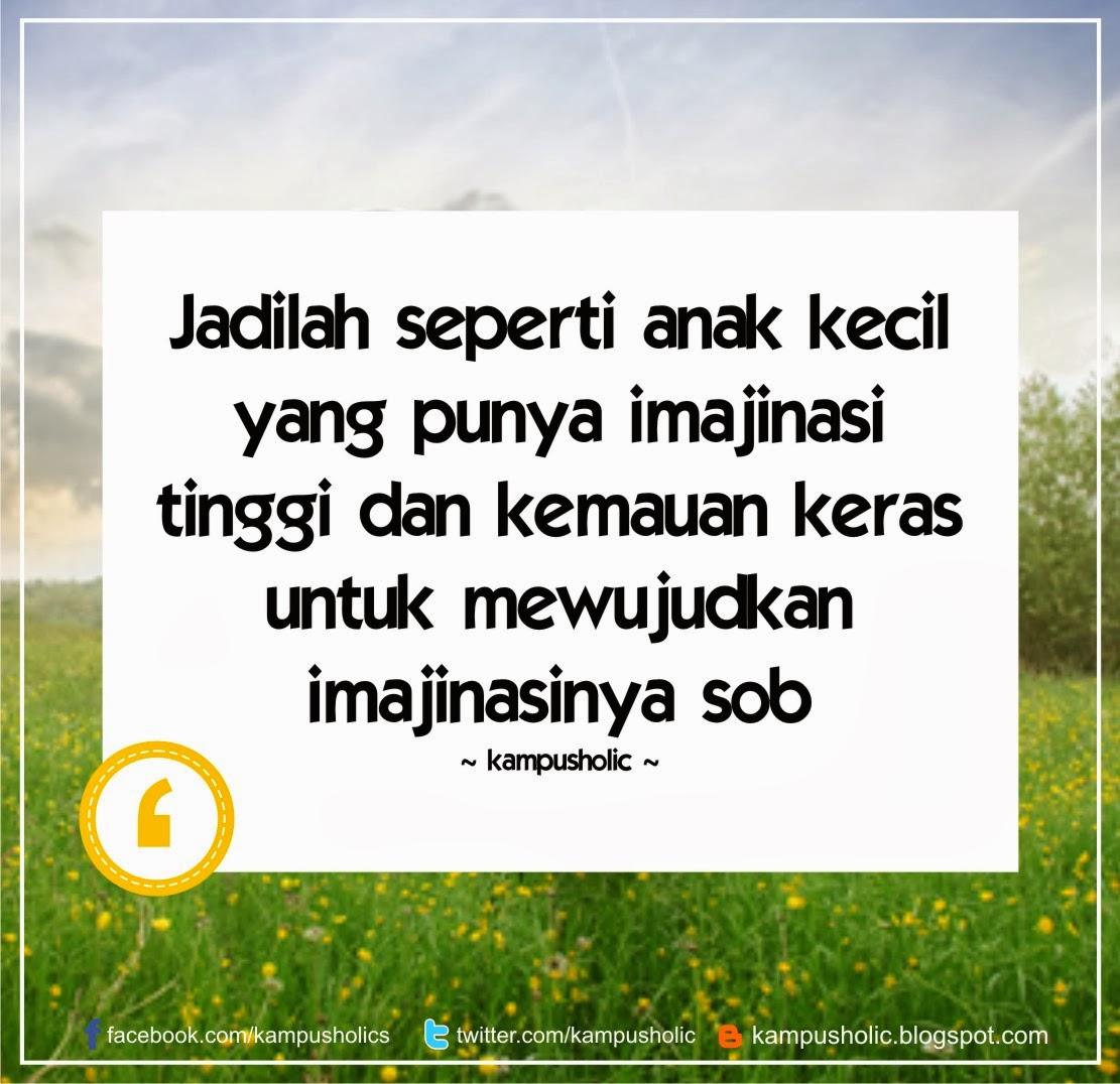 #5 Jadilah seperti anak kecil