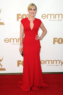 Kate Winslet (Elie Saab Gown, Cartier Jewelry)