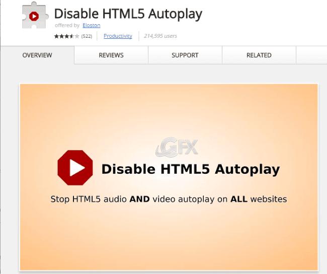 HTML5 Otomatik Oynatmayı Devre Dışı Bırak